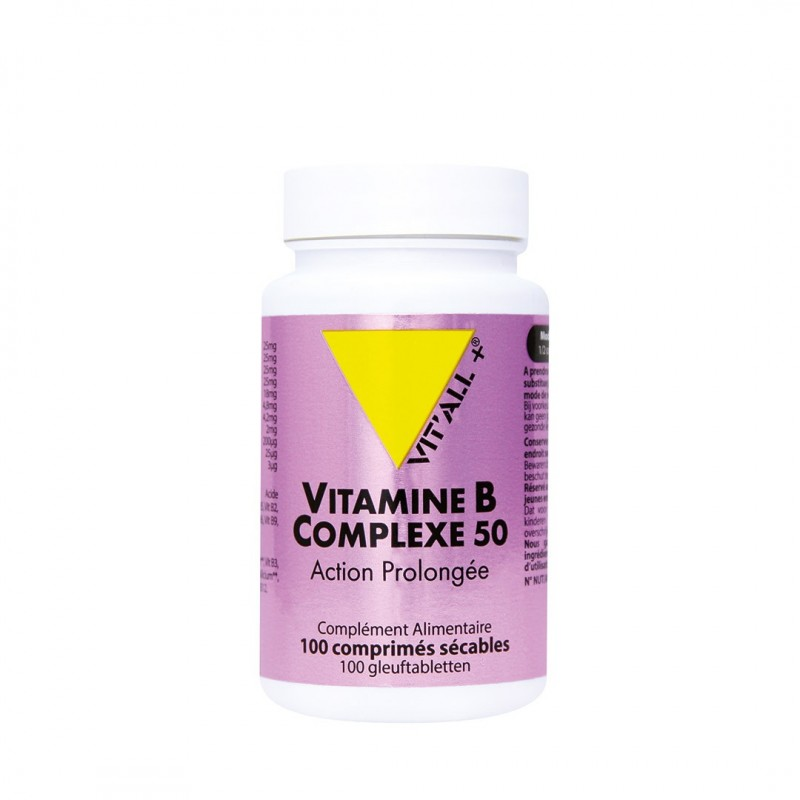 VITAMINES B COMPLEXE 50 Action Prolongée