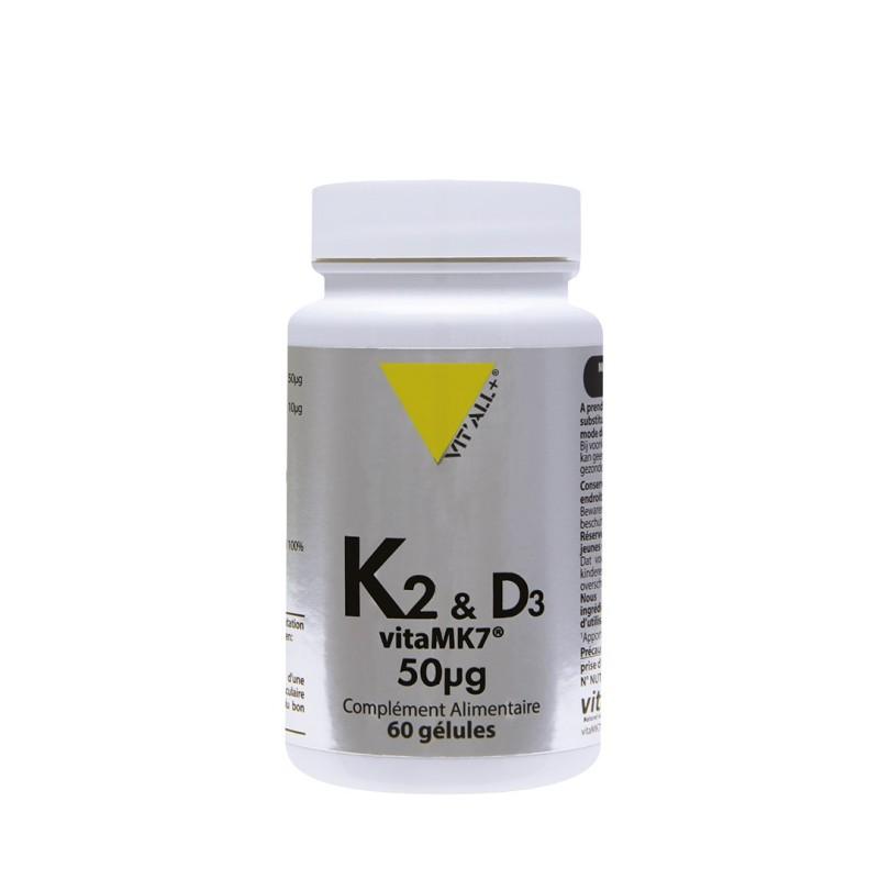 VITAMINES K2 vitaMK7® & D3 50mcg